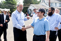 Dov Hikind Visits Camp HASC